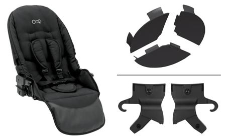 Oyster Max Tandem Seat Unit (optional) £119