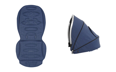 Add Oyster Max Tandem Seat Colour Pack £35