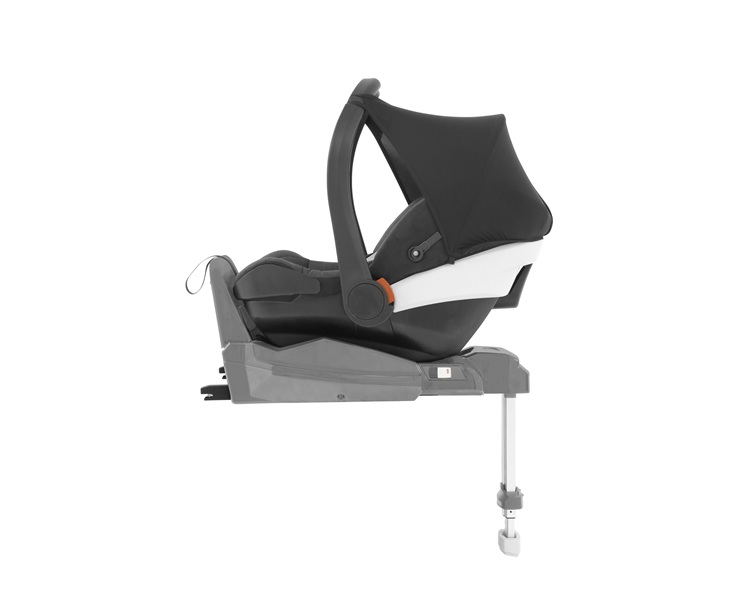 Duofix Base with Oyster Carapace Infant car seat
